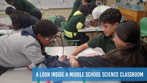 A Look Inside a Middle School Science Classroom