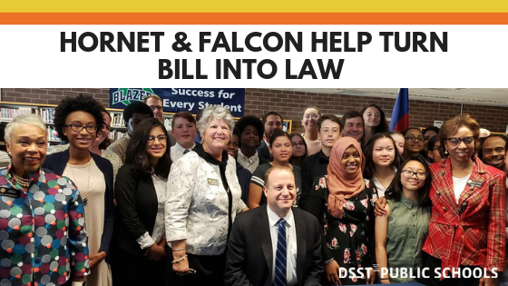 Hornet Helps Turn Bill into Law (1)
