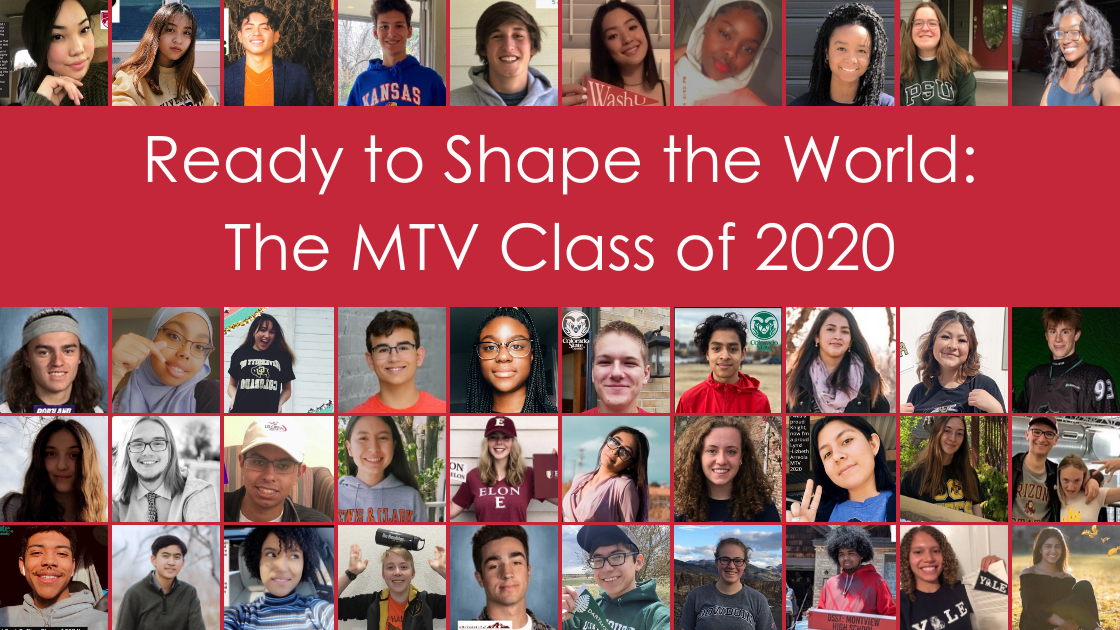 Ready to Shape the World_ The MTV Class of 2020