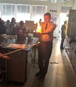 Senator Bennet  holding fire